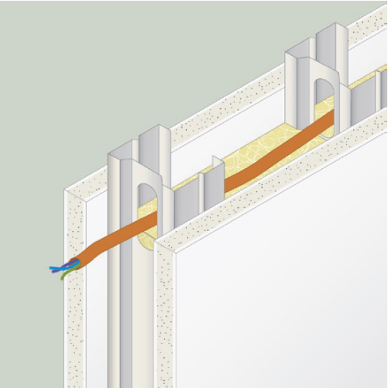 Tabiques de pladur pladur pintura - Aislamiento acustico paredes interiores ...